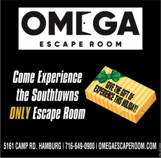 Come Experience The Southtowns Only Escape Room