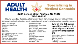 Specializing In Medical Cannabis