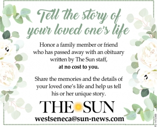 Tell The Story Of Your Loved One's Life