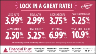 Lock In A Great Rate!