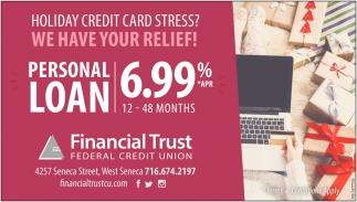 Personal Loan 6.99%
