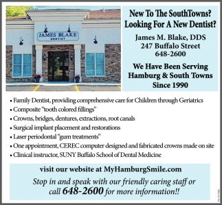 New To The SouthTowns?