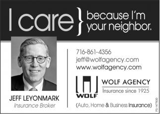 I Care Because I'm Your Neighbor