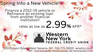 Spring Into A New Vehicle!