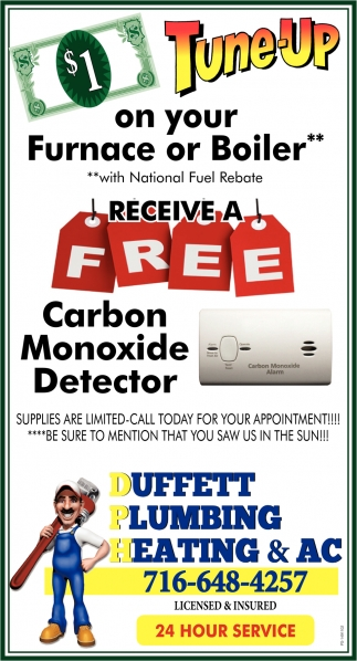 Tune-Up On Your Furnace Or Boiler