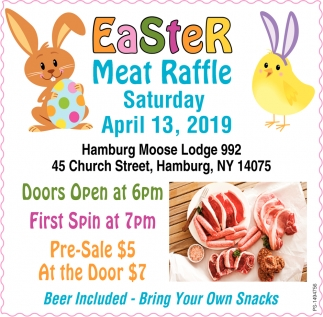 Easter Meat Raffle