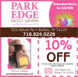 Extended Hours For Easter