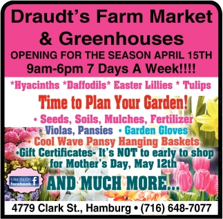 Time To Plan Your Garden!