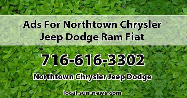 Ads for Northtown Chrysler Jeep Dodge Ram Fiat
